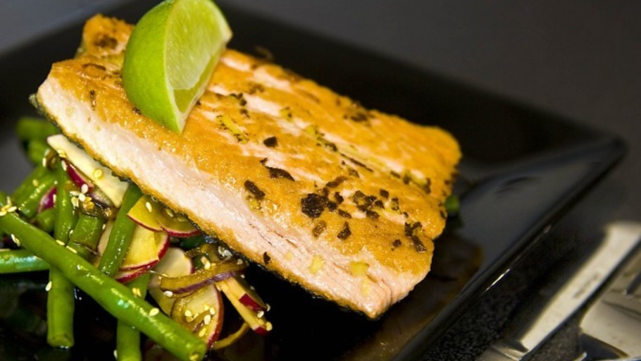 Asian Ginger Salmon