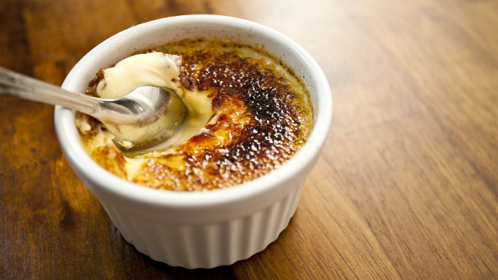 Orange And Cardamom Creme Brulee