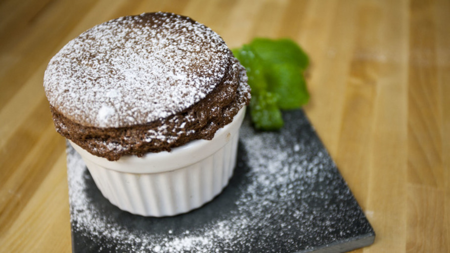 MINT CHOCOLATE SOUFFLÉ
