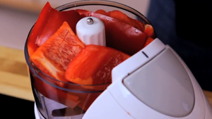 make the red pepper puree