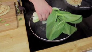 steam the pak choi