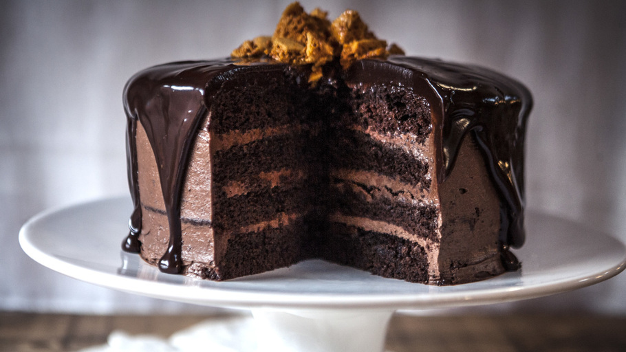epic chocolate cake