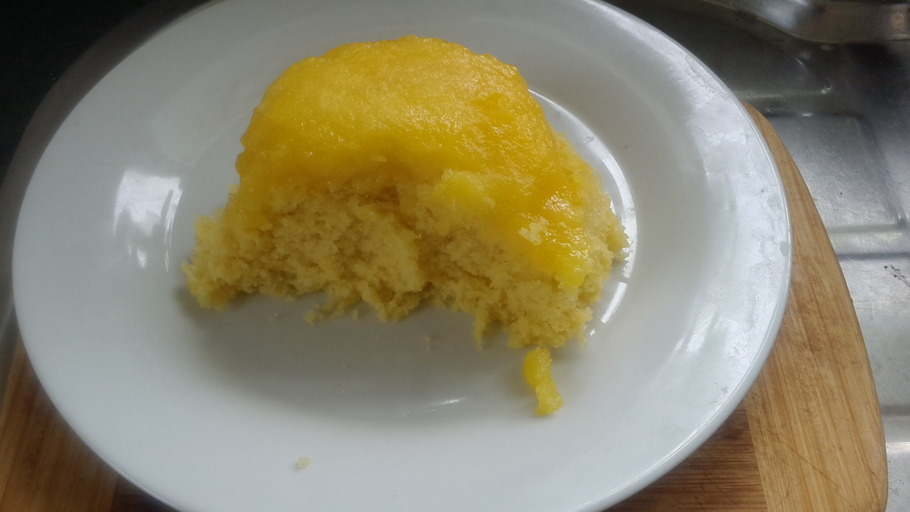 QUICKIE MICROWAVE STEAMED PUDDING FOR 1