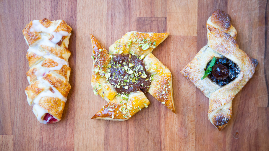 3 OF THE EASIEST PASTRIES