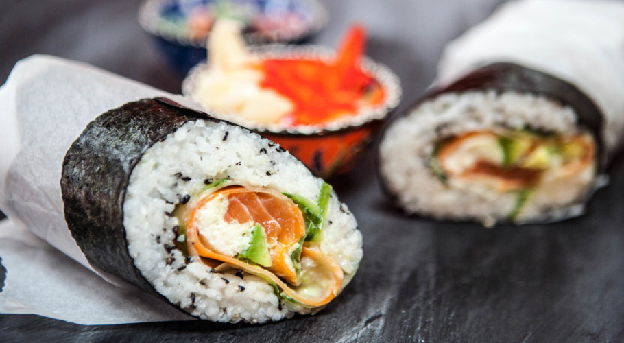 Image result for sushi burrito