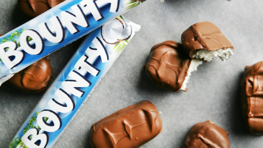 How To Make Bounty Chocolate At Home