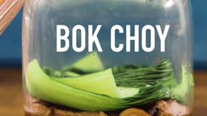 cook the bok choy