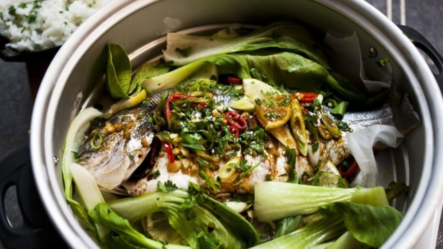 STEAMED CHINESE SEA BREAM