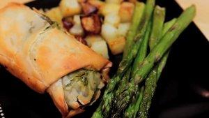 serve with asparagus
