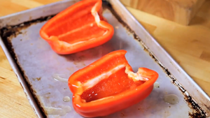 bake the peppers