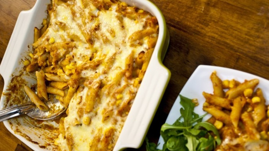 SECRET VEGGIE PASTA BAKE