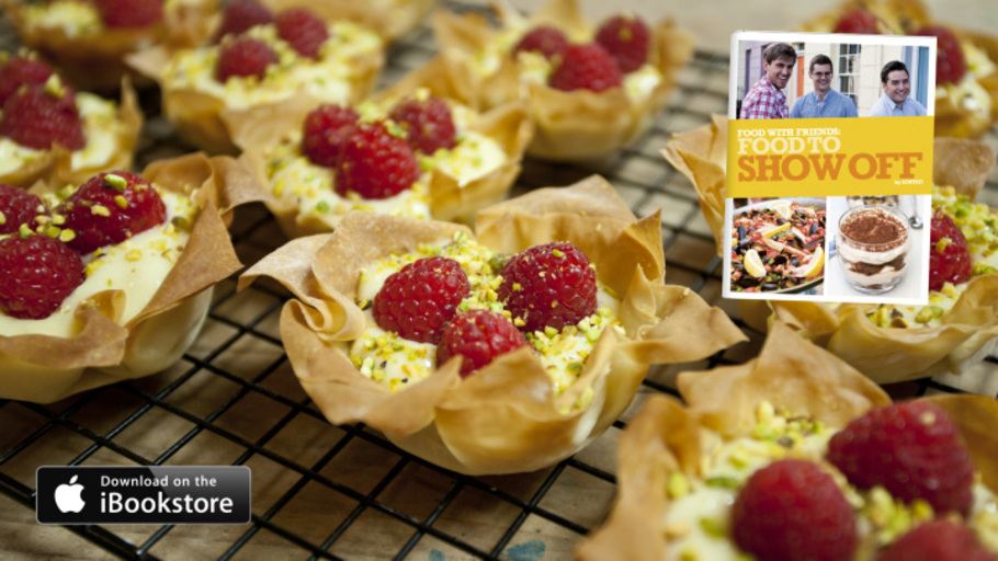 RASPBERRY TARTLETS: FOOD TO SHOW OFF