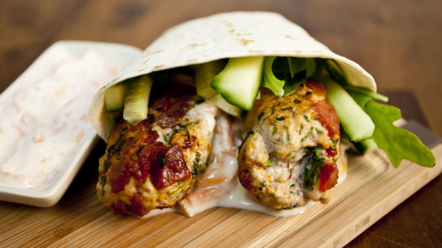 PORK KOFTA WRAPS